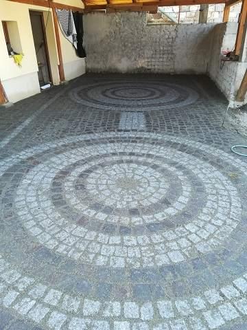 piatra cubica andezit din Transilvania