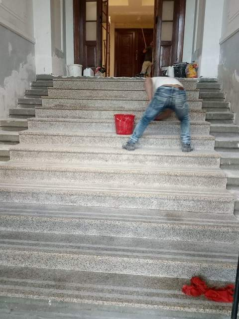 montaj scari de granit